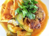 Braised Chicken with Zucchini and Tomatoes