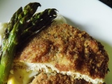 Simple Baked Pork Chops – With Parmesan Lemon Sage Crust