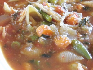 soup - food - recipes - minestrone -