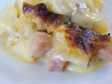 Au Gratin Potatoes and Ham