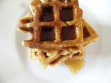 Oatmeal Banana and Brown Sugar Waffles