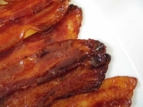 Spicy Maple Caramelized Bacon