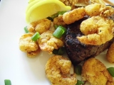 Cornmeal Crusted Shrimp…and SomeVegetables