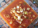 Meatless Monday – My Grandmother's Pasta Fagioli (Macaroni and Beans)