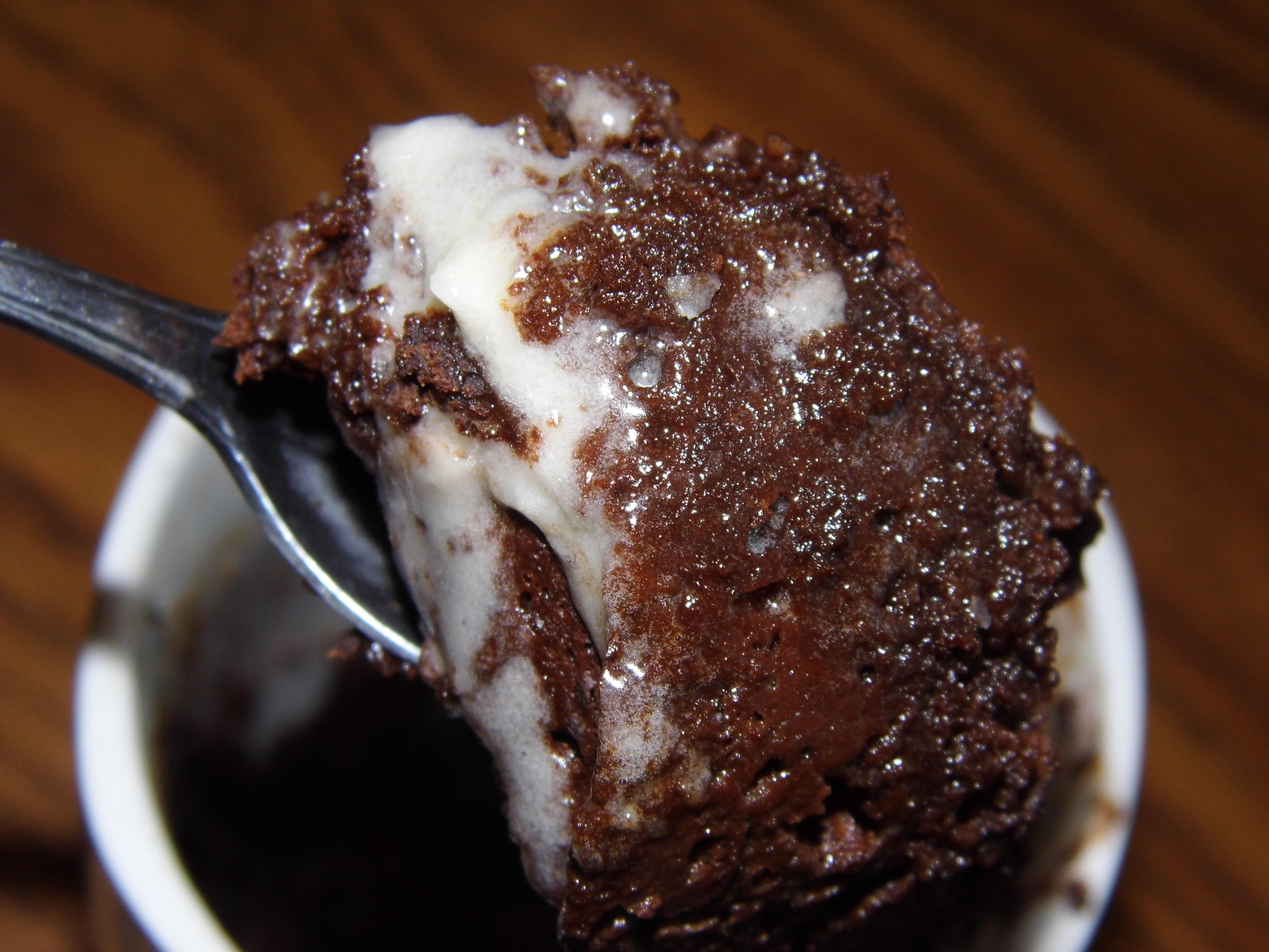 3 Ingredient Chocolate Cake In A Mug A Modern Christian Woman